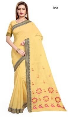 Shama Embriodered Fashion Cotton Sari