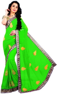 Palav Saree Embriodered Bollywood Georgette Sari