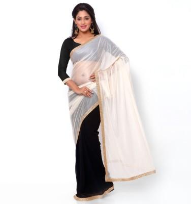 Ziyaa Striped Daily Wear Viscose, Lycra Sari