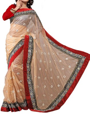 Parmar Design Self Design Bollywood Net Sari