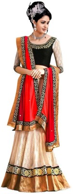 khushifashions Embriodered Bollywood Pure Silk Sari