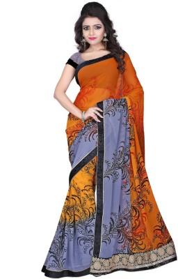 Heart & Soul Printed Fashion Georgette Sari