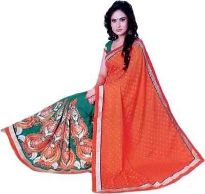 Jannat Embellished, Embriodered Bollywood Chiffon Sari