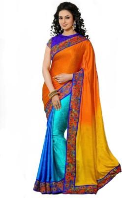 Lime Fashion Self Design Fashion Jacquard Sari