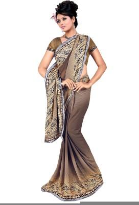 Janya Self Design Tangail Georgette Sari