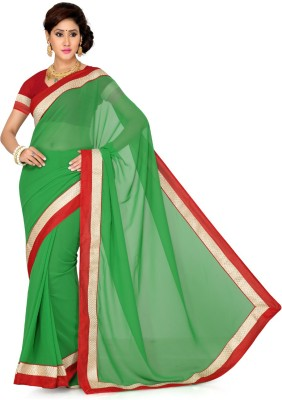 Ayushi Apparel's Embellished Bollywood Georgette Sari