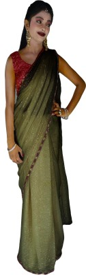 Kays Plain Fashion Pure Georgette Sari