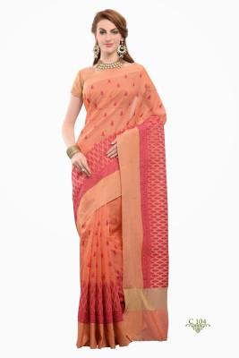 La,ethnic Embriodered Fashion Cotton Sari