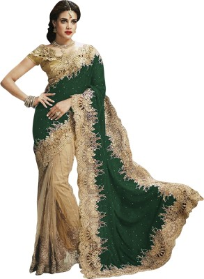 EthnicBasket Self Design Fashion Velvet Sari