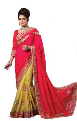 Nilu Tex Embriodered Bollywood Handloom Acrylic Wool Sari