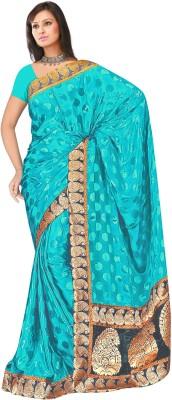 MGS Self Design Fashion Brasso Sari