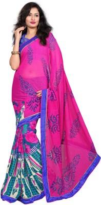 Kabira Floral Print Daily Wear Georgette Sari