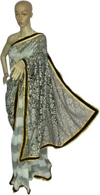 KheyaliBoutique Self Design Fashion Chanderi, Brasso Sari
