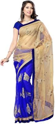 Sabsesasta Self Design Fashion Net Sari