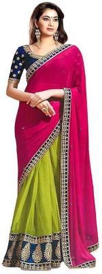 Sapphire Retail Embriodered Fashion Georgette Sari