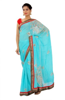 Shri Narayan Fashions Embellished Fashion Jacquard Sari