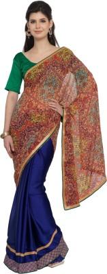 Moiaa Printed Fashion Georgette Sari