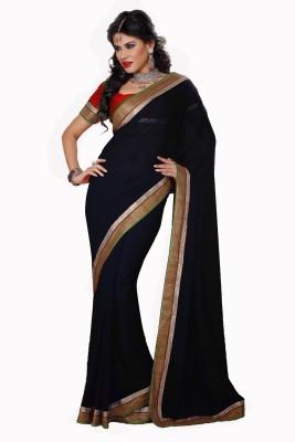 Vishal Saree Self Design Fashion Chiffon Sari