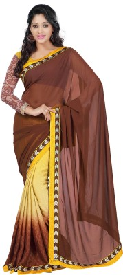 Namrata Fashion Self Design Chanderi Georgette Sari
