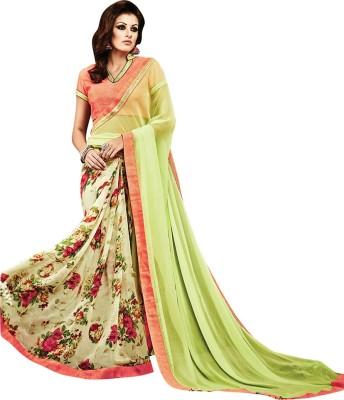 Saara Printed Fashion Chiffon Sari