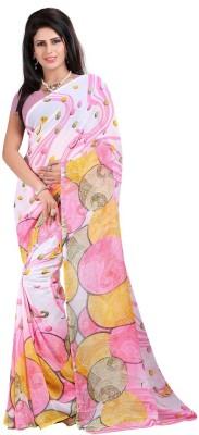 Pruthu Printed Fashion Georgette Sari