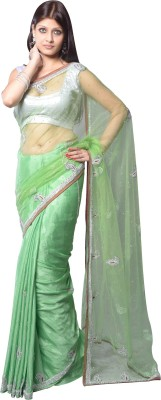 Aarti Saree Embriodered Fashion Net Sari