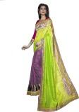 Saree Exotica Embroidered Fashion Art Si...