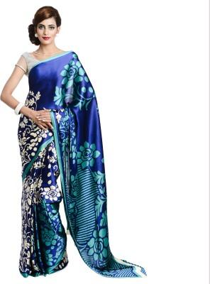 Aaditri Printed Daily Wear Satin Sari