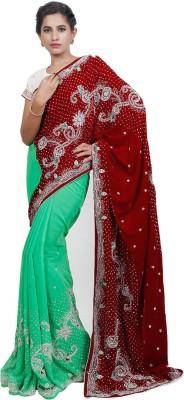 Adaab Embriodered Bollywood Velvet Sari
