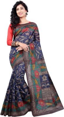 Esaree Printed Bhagalpuri Art Silk Sari