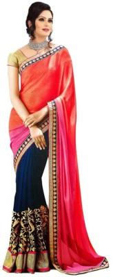 Ramadev Fashion Self Design Bollywood Georgette Sari
