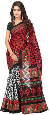 Kintu Designs Pvt. Ltd. Printed Bollywood Silk Sari