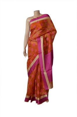 BEAUVILLE VAIIBAVAM Woven Banarasi Banarasi Silk Sari