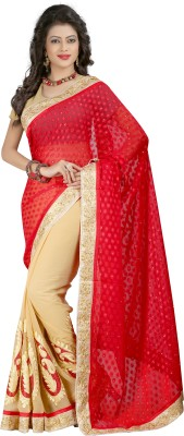 Mahalaxmi Fashion Embriodered Bollywood Georgette Sari