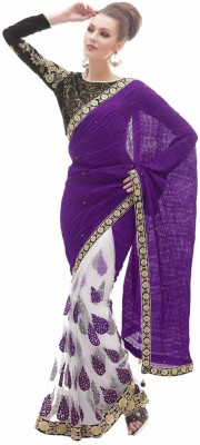 Pavitraa Embriodered Fashion Silk Sari