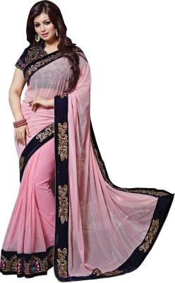 Snehaa Fashion World Self Design Fashion Net Sari