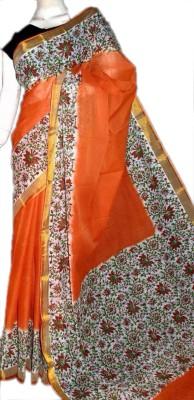 MCLS FASHION Printed, Floral Print Fashion Cotton Sari