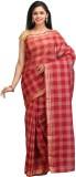 Padmaja Sarees Checkered Fashion Cotton ...