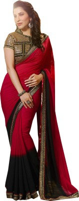 Shivanifashion Embriodered Bollywood Georgette Sari