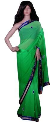 Sonika Creation Self Design Bollywood Georgette Sari