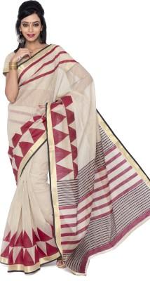 Suhanee`s Exclusive Printed Chanderi Cotton Sari
