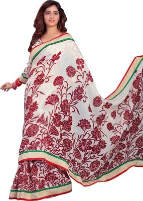 Eella Collections Printed Fashion Tissue Silk Sari