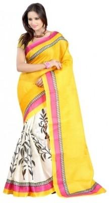 Bonivos Printed Bhagalpuri Silk Sari