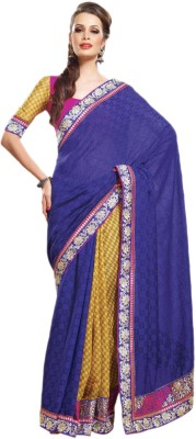 Hypnotex Printed Fashion Jacquard Sari