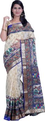Ethnic Colours Self Design Fashion Printed Silk Sari