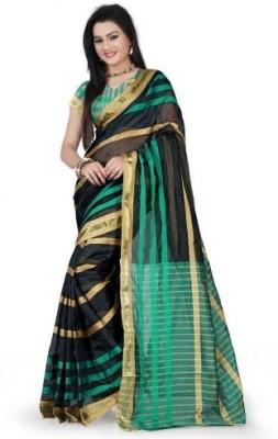 Muta Fashions Printed Bhagalpuri Art Silk Sari