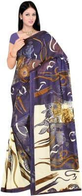 Fashion Factory Printed Daily Wear Georgette Sari