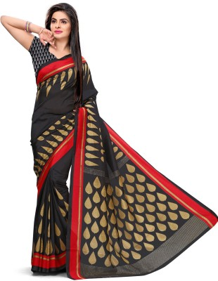 Design Willa Printed Mysore Synthetic Crepe Sari