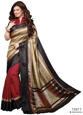 Emporiodeals Self Design Bhagalpuri Art Silk Sari