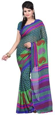 Viva N Diva Printed Bollywood Georgette Sari